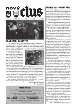 Obecné noviny č.1 - 2012