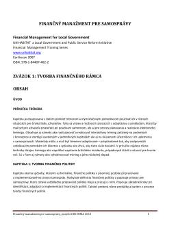 03 FMS 1 Kapitola Financné politiky