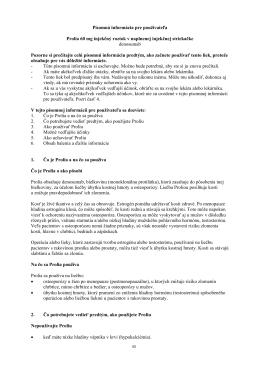 Písomná informácia pre používateľa Prolia 60 mg