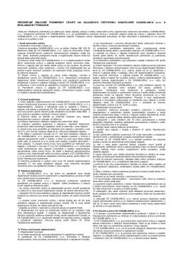 Všeobecné zmluvné podmienky (PDF)