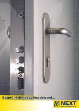 Bezpečnostné dvere | NEXT