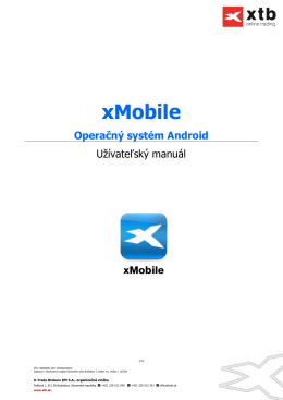 xMobile - X-Trade Brokers