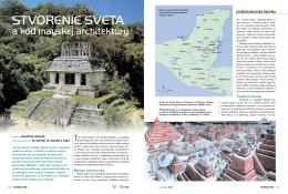 Stvorenie sveta a kód mayskej architektúry