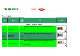 karta produktu nasuwki termokurczliwe