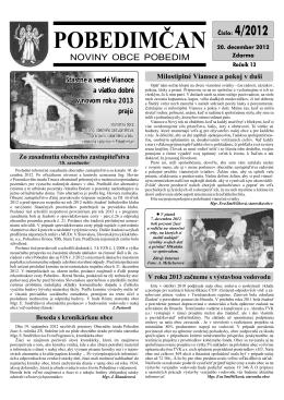 Pobedimčan č. 04/2012