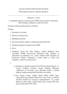 Asociácia stredných odborných škôl Slovenska SPŠ