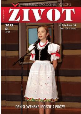 07 lipiec 2012[1].pdf - Towarzystwo Słowaków w Polsce