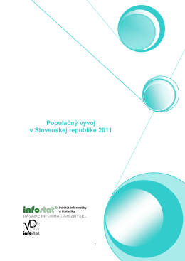 Populačný vývoj v Slovenskej republike 2011