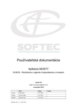 Používateľská príručka - Portál Informačného systému Modelu