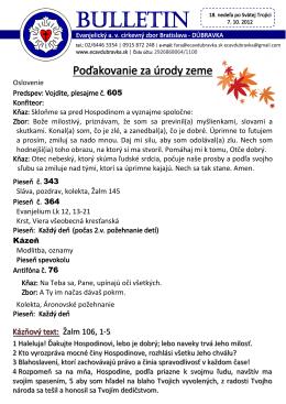 bl. 07.10.2012 - ECAV Dúbravka