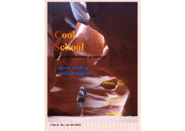Cool School - Piaristická spojená škola