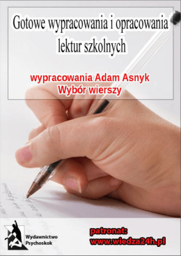 koncepcja pracy - Gimnazjum nr 2 w Pabianicach