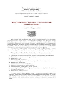 Návratka - Štátna vedecká knižnica v Prešove
