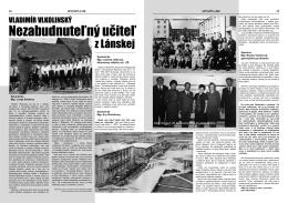 LÁNOVINY, č. 3-4/2013 - Povazska Bystrica