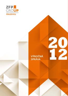 Výročná správa 2012 k stiahnutiu