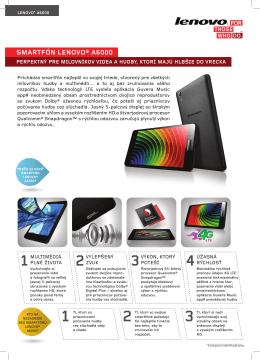 Datasheet Lenovo A6000 - Lenovo