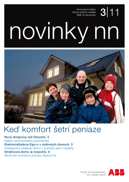 novinky nn 3/2011