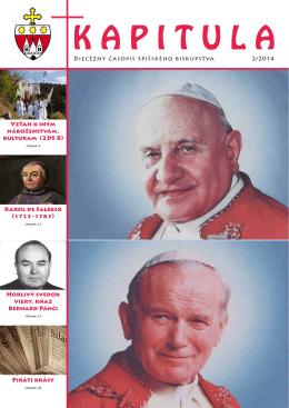 Kapitula 2/2014 - Spišská diecéza