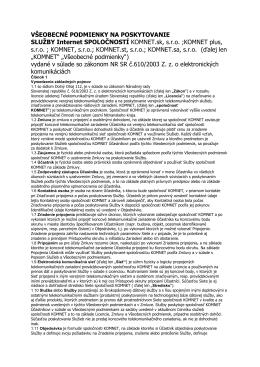 stiahnuť - KOMNET.sk