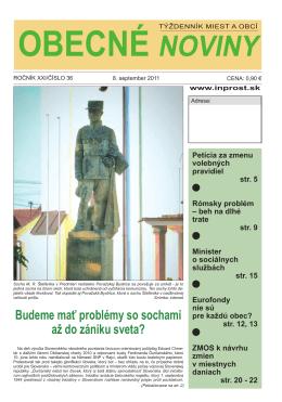Budeme mať problémy so sochami až do zániku sveta?