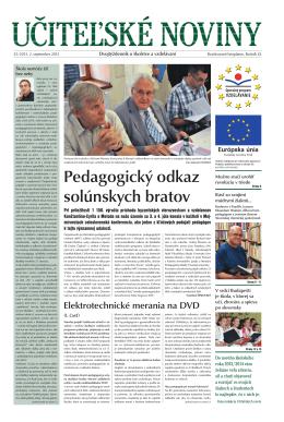 Učiteľské noviny číslo 25 /strana 3