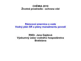 Implementácia RSV