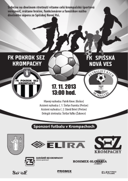 SNV - FK Pokrok SEZ Krompachy