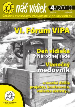 časopis v PDF - Vidiecky Parlament