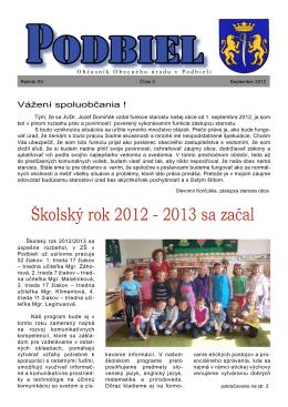 2012-3 - Obec Podbiel