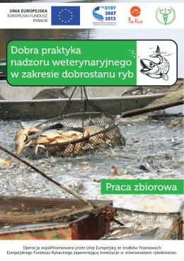 Dobra praktyka nadzoru weterynaryjnego w zakresie dobrostanu ryb