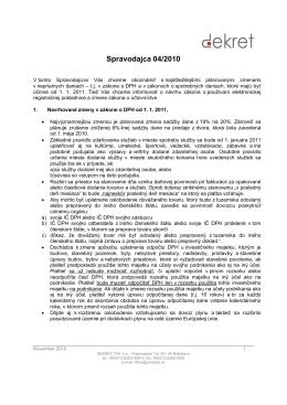 Spravodaj 04/2010