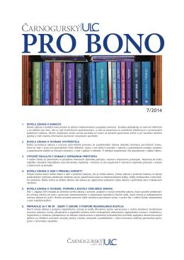 PRO BONO ULC 07 2014