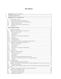 Wytyczne do projektowania i wykonawstwa sieci oraz obiektów
