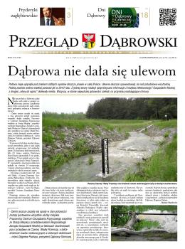 Dąbrowa nie dała się ulewom - Miejska Biblioteka Publiczna