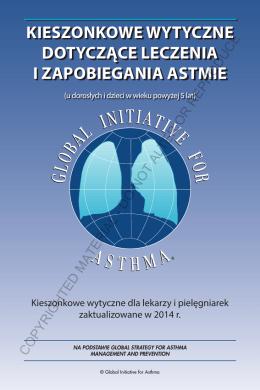 kieszonkowe wytyczne dotyczące leczenia i zapobiegania astmie