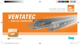 Profil sufitowy KNAUF AMF Ventatec