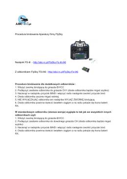 1416254415-procedura-bindowania-aparatury-flysky - ABC