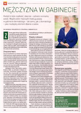 MEZCZYZNA W GABINECIE - Dr Iwona Radziejewska