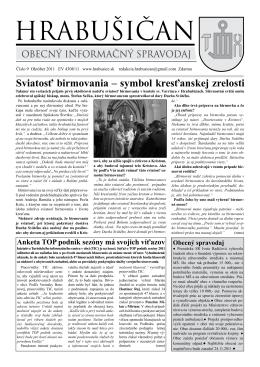 Hrabišičan 09 - obec Hrabušice