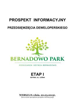 PROSPEKT INFORMACYJNY ETAP I