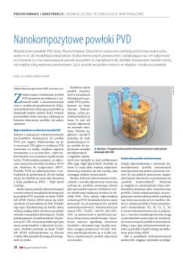 Nanokompozytowe powłoki PVD