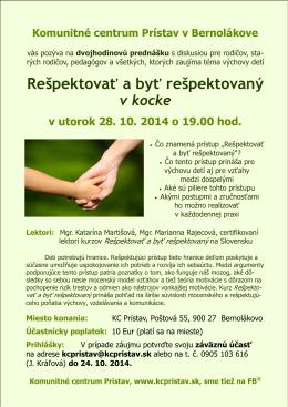 Pozvanka RaR.pub - respektovanie.sk