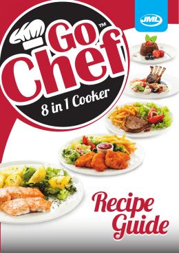 Przepisy kulinarne Go Chef