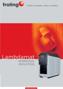 Stiahnite si Technický list Lambdamat v PDF