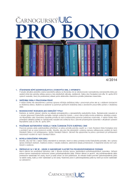 PRO BONO ULC 04 2014