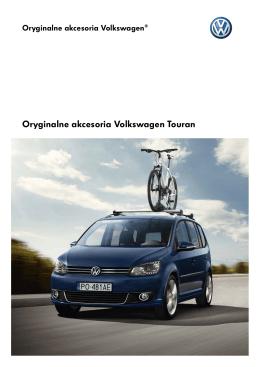 Oryginalne akcesoria Volkswagen Touran - Jodko