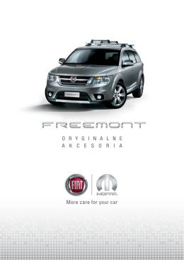Fiat Freemont - akcesoria - Fiat