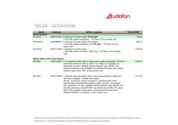 Telex - Audiofan