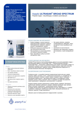 PDF__Aseptix UltraSan Broad Spectrum TPS arial