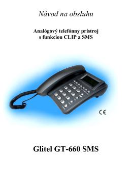 Glitel GT-660 SMS - GLITEL Stropkov, sro